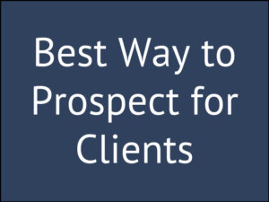 How to Find Prospects for Life Insurance Clients