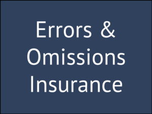 Errors and Omissions Insurance for Life Insurance Agents